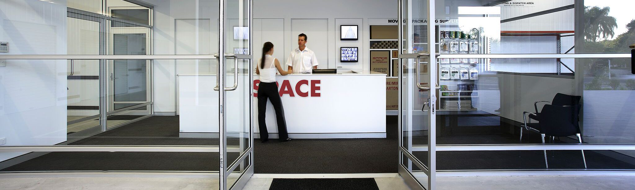 Space Self Storage Lobby